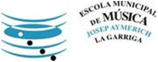 Logo Escola Municipal de Música Josep Aymerich